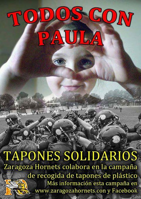 El próximo 22 de abril, ¡TODOS CON PAULA!