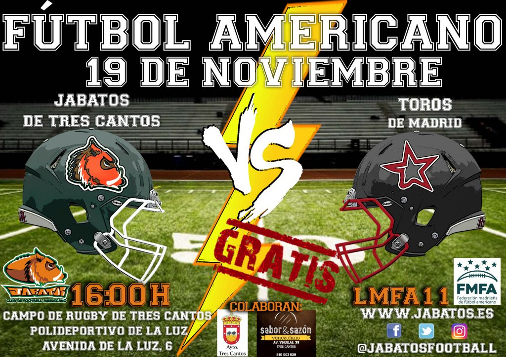 CARTEL JABATOS VS TOROS