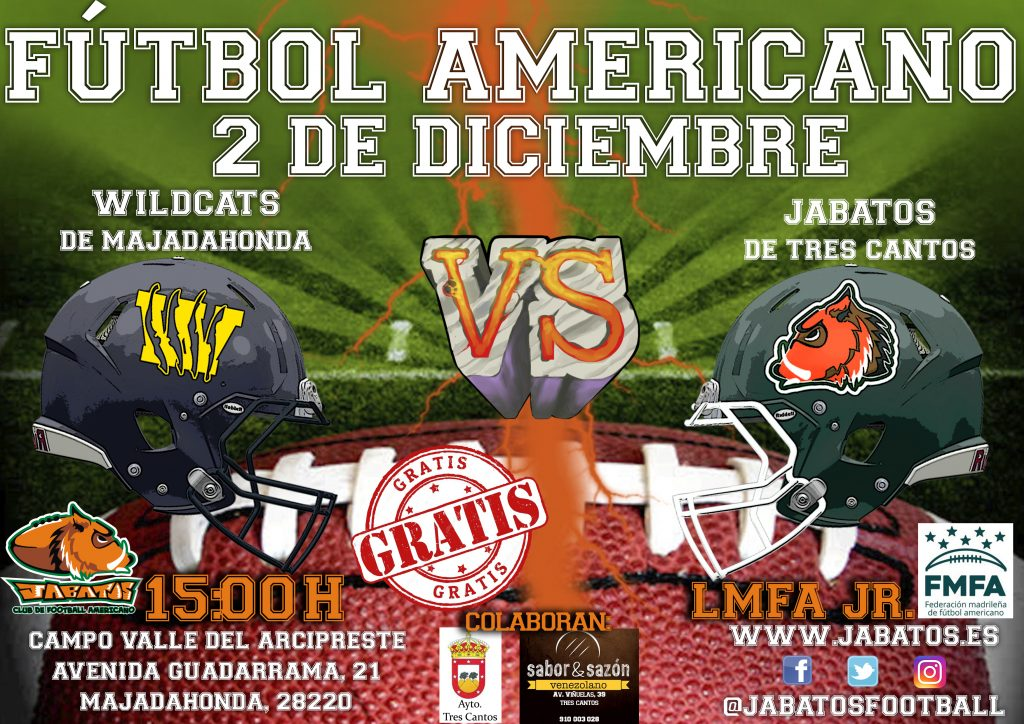 CARTEL JABATOS VS WILDCATS JR