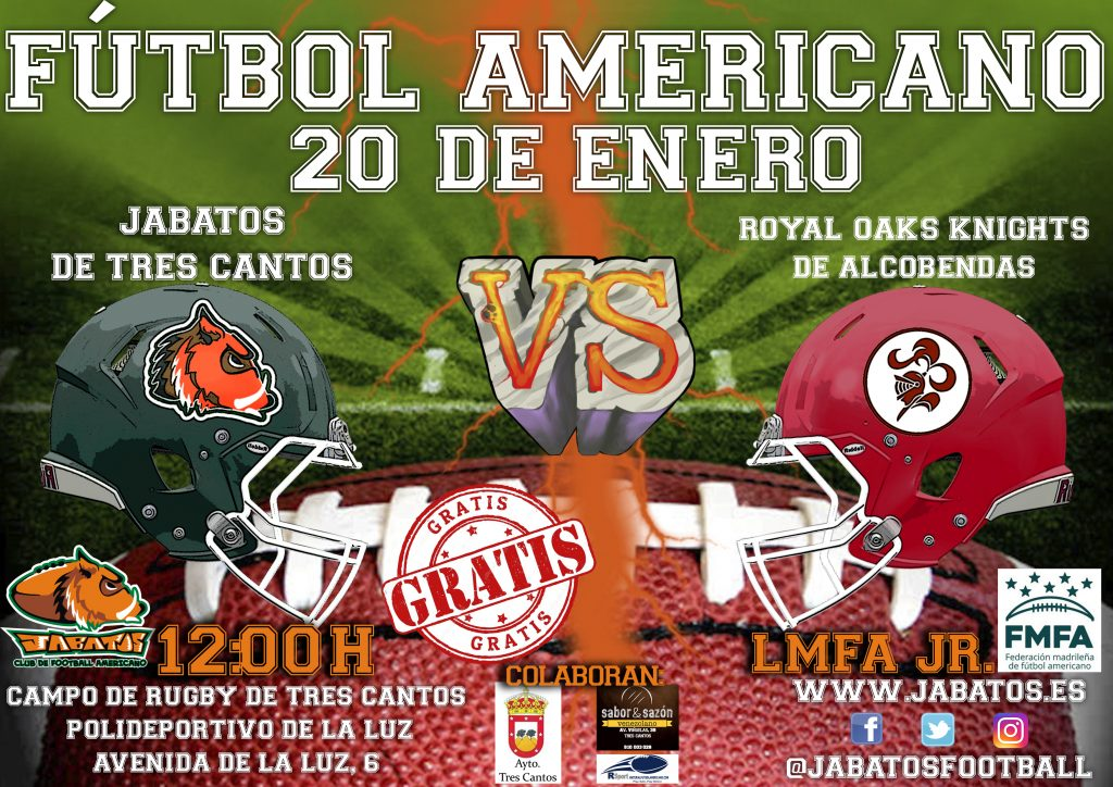 CARTEL JABATOS VS ROYAL OAKS KNIGHTS JR