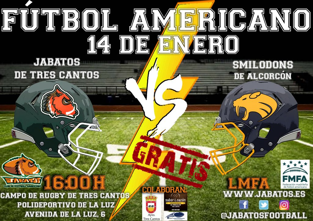 CARTEL JABATOS VS SMILODONS