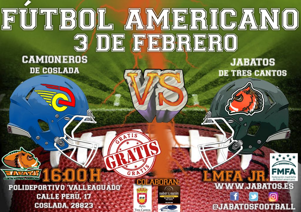 CARTEL JABATOS VS CAMIONEROS JR