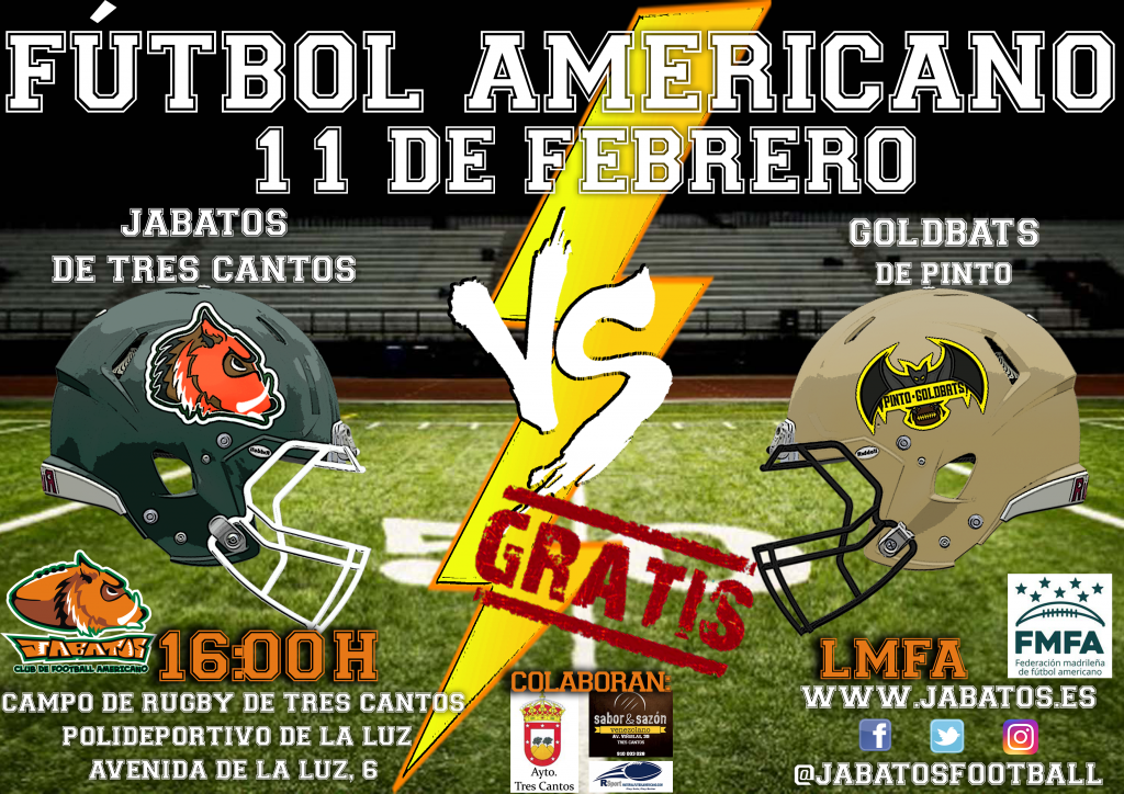 CARTEL JABATOS VS GOLDBATS (1)