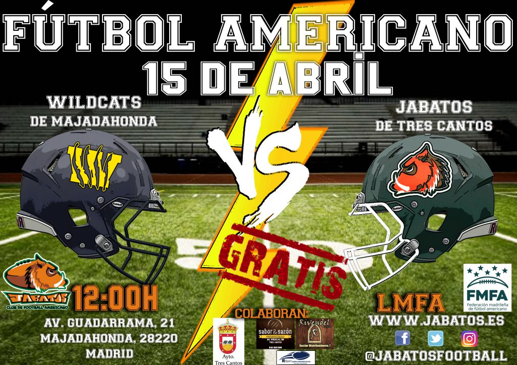 CARTEL JABATOS VS WILDCATS copia
