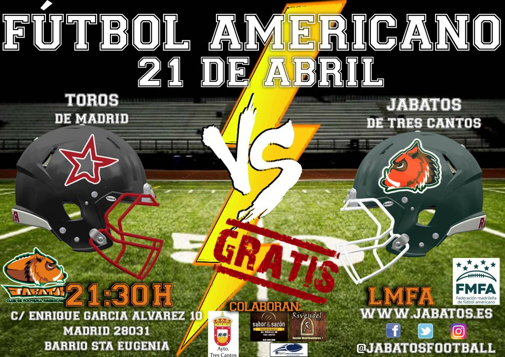 CARTEL JABATOS VS toros copia