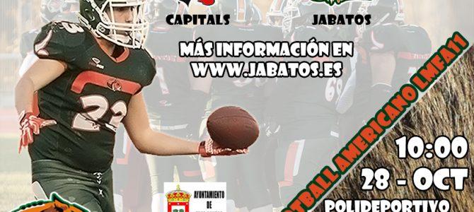 Que empiece el Football: Capitals VS Jabatos