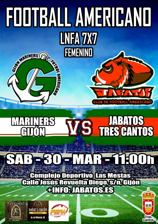 Femenino - Mariners vs Jabatos