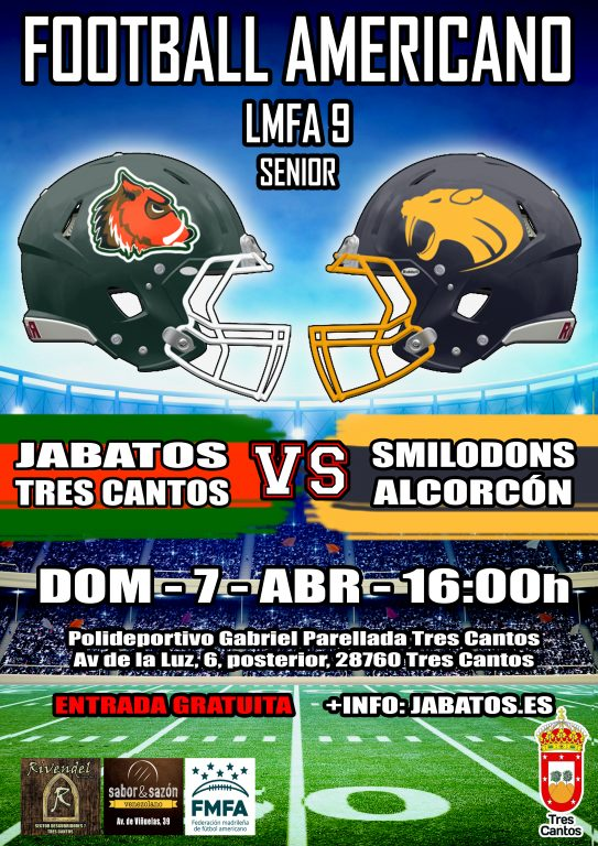 JABATOS VS SMILODONS LMFA9 SENIOR MASC