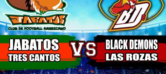 Sábado de doblete contra Black Demons en la LMFA9 y LNFA7